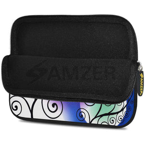 AMZER 7.75 Inch Neoprene Zipper Sleeve Pouch Tablet Bag - Twill Colour - fommystore