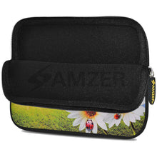 Load image into Gallery viewer, AMZER 7.75 Inch Neoprene Zipper Sleeve Pouch Tablet Bag - Daisy Springs - fommystore
