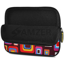 Load image into Gallery viewer, AMZER 10.5 Inch Neoprene Zipper Sleeve Pouch Tablet Bag - Retro Squares - fommystore
