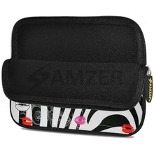 Load image into Gallery viewer, AMZER 10.5 Inch Neoprene Zipper Sleeve Pouch Tablet Bag - Zebra Kiss - fommystore