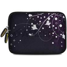 Load image into Gallery viewer, AMZER 7.75 Inch Neoprene Zipper Sleeve Pouch Tablet Bag - Purple Ivy - fommystore