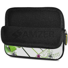 Load image into Gallery viewer, AMZER 7.75 Inch Neoprene Zipper Sleeve Pouch Tablet Bag - Green Keys - fommystore