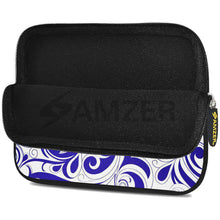 Load image into Gallery viewer, AMZER 7.75 Inch Neoprene Zipper Sleeve Pouch Tablet Bag - Blue Elegance - fommystore