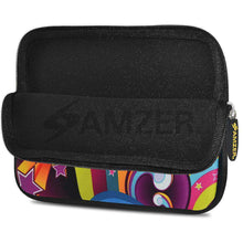 Load image into Gallery viewer, AMZER 10.5 Inch Neoprene Zipper Sleeve Pouch Tablet Bag - Funky Ritz - fommystore
