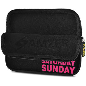 AMZER 7.75 Inch Neoprene Zipper Sleeve Pouch Tablet Bag - Weekdays - fommystore