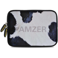 Load image into Gallery viewer, AMZER 7.75 Inch Neoprene Zipper Sleeve Pouch Tablet Bag - Cow Hide - fommystore