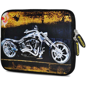 AMZER 7.75 Inch Neoprene Zipper Sleeve Pouch Tablet Bag - Ghost Rider - fommystore