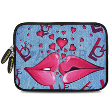Load image into Gallery viewer, AMZER 10.5 Inch Neoprene Zipper Sleeve Pouch Tablet Bag - Love Lips - fommystore