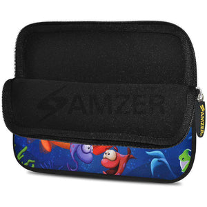 AMZER 7.75 Inch Neoprene Zipper Sleeve Pouch Tablet Bag - Sea World - fommystore