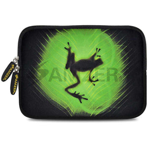 AMZER 7.75 Inch Neoprene Zipper Sleeve Pouch Tablet Bag - Rhythm Frog - fommystore