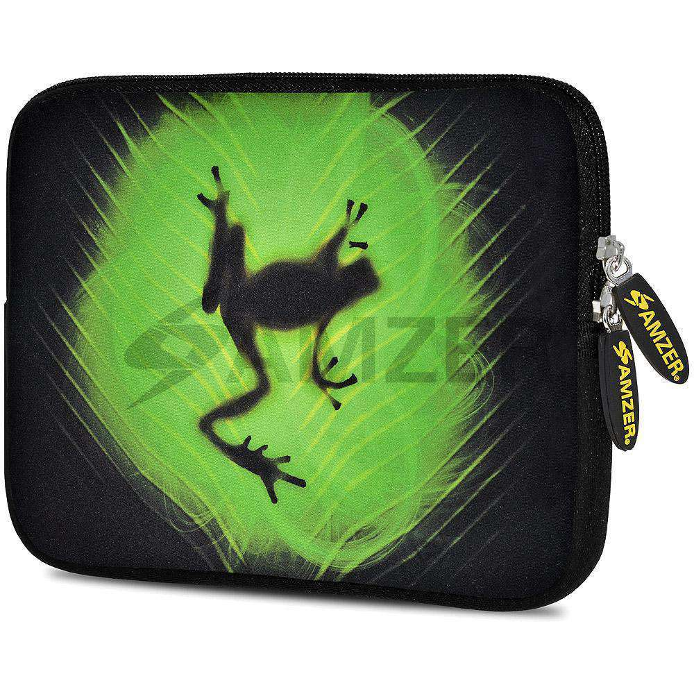 AMZER 10.5 Inch Neoprene Zipper Sleeve Pouch Tablet Bag - Rhythm Frog - fommystore
