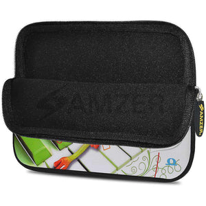 AMZER 10.5 Inch Neoprene Zipper Sleeve Pouch Tablet Bag - Relaxing Frog - fommystore