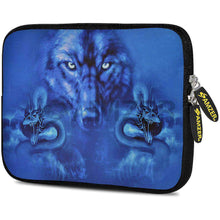 Load image into Gallery viewer, AMZER 7.75 Inch Neoprene Zipper Sleeve Pouch Tablet Bag - Blue Trix - fommystore