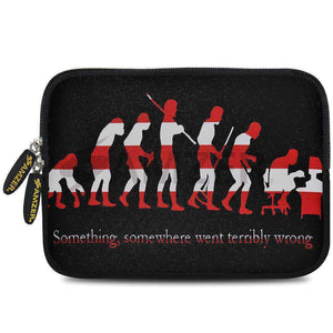 AMZER 10.5 Inch Neoprene Zipper Sleeve Pouch Tablet Bag - Evolution Cycle - fommystore