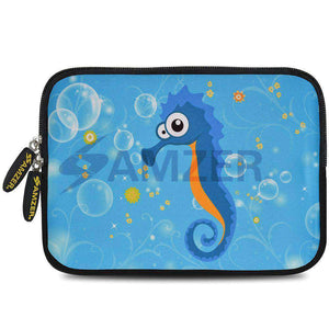 AMZER 10.5 Inch Neoprene Zipper Sleeve Pouch Tablet Bag - Sea Horse - fommystore