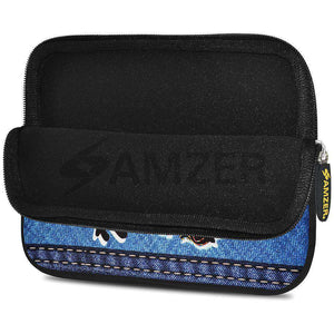 AMZER 7.75 Inch Neoprene Zipper Sleeve Pouch Tablet Bag - Together Always - fommystore