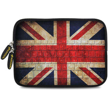 Load image into Gallery viewer, AMZER 7.75 Inch Neoprene Zipper Sleeve Pouch Tablet Bag - Antique Union Jack - fommystore