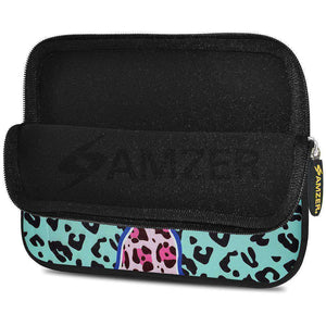 AMZER 10.5 Inch Neoprene Zipper Sleeve Pouch Tablet Bag - Blue Safari - fommystore