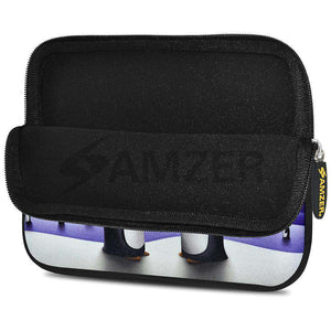 AMZER 7.75 Inch Neoprene Zipper Sleeve Pouch Tablet Bag - Penguin Life - fommystore