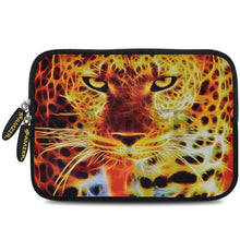 Load image into Gallery viewer, AMZER 7.75 Inch Neoprene Zipper Sleeve Pouch Tablet Bag - Big Cat - fommystore