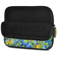 Load image into Gallery viewer, AMZER 7.75 Inch Neoprene Zipper Sleeve Pouch Tablet Bag - Yell Blue Classic - fommystore