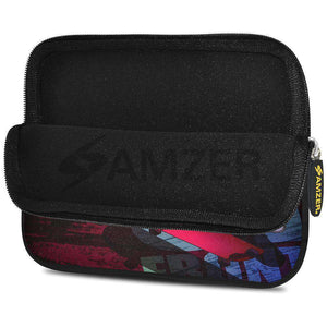 AMZER 7.75 Inch Neoprene Zipper Sleeve Pouch Tablet Bag - Sleek - fommystore