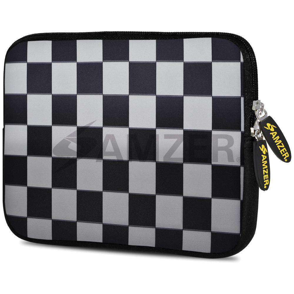 AMZER 7.75 Inch Neoprene Zipper Sleeve Pouch Tablet Bag - Chess Mate - fommystore