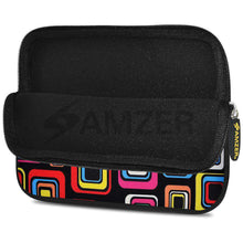 Load image into Gallery viewer, AMZER 7.75 Inch Neoprene Zipper Sleeve Pouch Tablet Bag - Retro Dot Boxes - fommystore