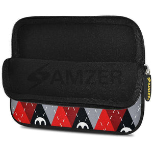 AMZER 7.75 Inch Neoprene Zipper Sleeve Pouch Tablet Bag - Cross Check - fommystore