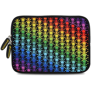 AMZER 7.75 Inch Neoprene Zipper Sleeve Pouch Tablet Bag - Prism - fommystore