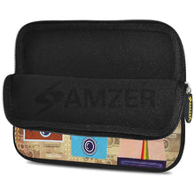 Load image into Gallery viewer, AMZER 7.75 Inch Neoprene Zipper Sleeve Pouch Tablet Bag - Retro Cameras - fommystore