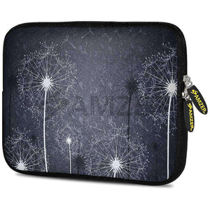 AMZER 7.75 Inch Neoprene Zipper Sleeve Pouch Tablet Bag - Dandelions Bloom - fommystore