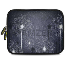 Load image into Gallery viewer, AMZER 7.75 Inch Neoprene Zipper Sleeve Pouch Tablet Bag - Dandelions Bloom - fommystore