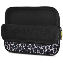 Load image into Gallery viewer, AMZER 7.75 Inch Neoprene Zipper Sleeve Pouch Tablet Bag - Green Cat Eyes - fommystore