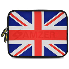 Load image into Gallery viewer, AMZER 7.75 Inch Neoprene Zipper Sleeve Pouch Tablet Bag - Union Jack - fommystore