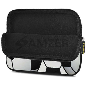 AMZER 7.75 Inch Neoprene Zipper Sleeve Pouch Tablet Bag - Football World - fommystore