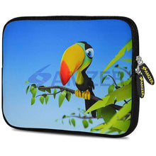 Load image into Gallery viewer, AMZER 7.75 Inch Neoprene Zipper Sleeve Pouch Tablet Bag - Toucan World - fommystore