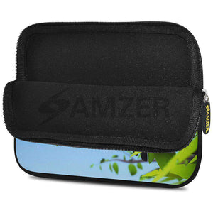 AMZER 7.75 Inch Neoprene Zipper Sleeve Pouch Tablet Bag - Toucan World - fommystore
