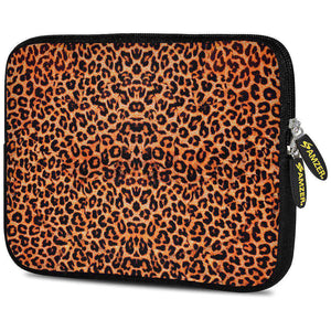 AMZER 7.75 Inch Neoprene Zipper Sleeve Pouch Tablet Bag - Cheetah Skin - fommystore