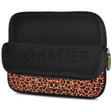 Load image into Gallery viewer, AMZER 7.75 Inch Neoprene Zipper Sleeve Pouch Tablet Bag - Cheetah Skin - fommystore