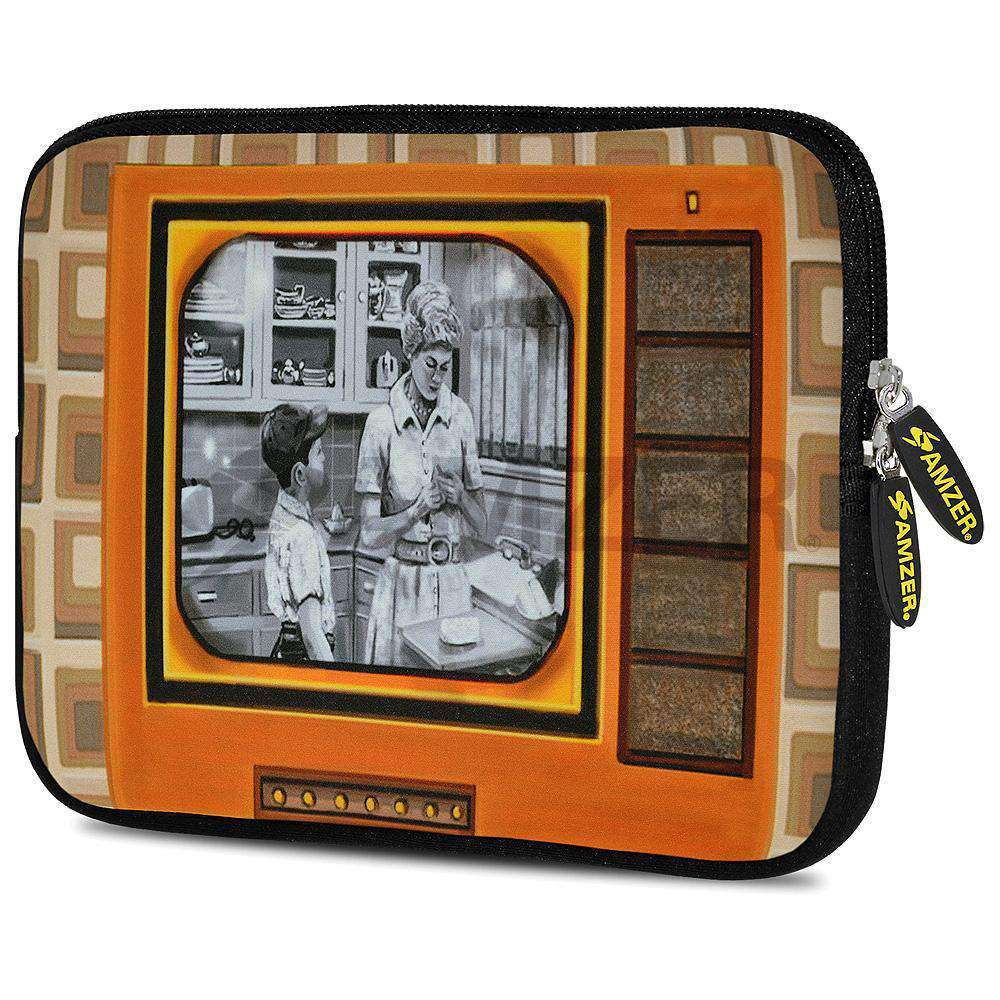 AMZER 7.75 Inch Neoprene Zipper Sleeve Pouch Tablet Bag - Good Old Days TV - fommystore