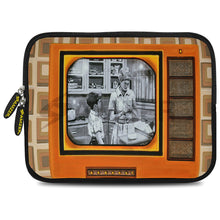 Load image into Gallery viewer, AMZER 10.5 Inch Neoprene Zipper Sleeve Pouch Tablet Bag - Good Old Days TV - fommystore
