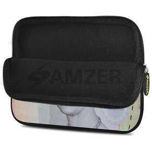 AMZER 10.5 Inch Neoprene Zipper Sleeve Pouch Tablet Bag - Pound Sterling Note - fommystore