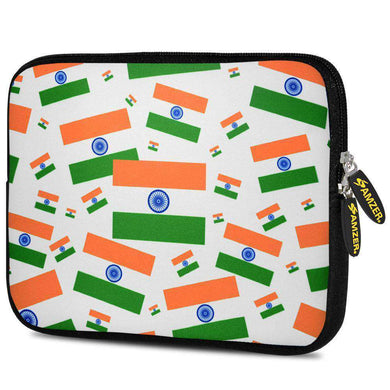 AMZER 7.75 Inch Neoprene Zipper Sleeve Tablet Pouch - India Together We Stand - fommystore