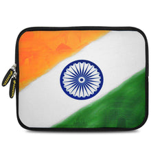 Load image into Gallery viewer, AMZER 10.5 Inch Neoprene Zipper Sleeve Pouch Tablet Bag - Tiranga Chakra Hamara - fommystore