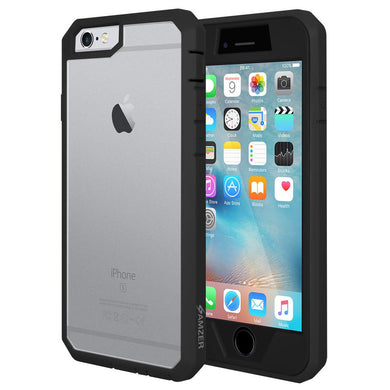 AMZER Full Body Hybrid Cover With Built-in Screen Protector for iPhone 6