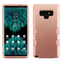 Load image into Gallery viewer, AMZER® TUFFEN Hybrid Protector Cover for Samsung Galaxy Note9 - Gold/Gold