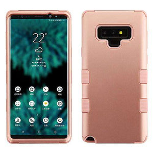 AMZER® TUFFEN Hybrid Protector Cover for Samsung Galaxy Note9 - Gold/Gold