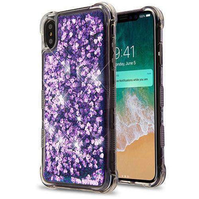 AMZER® Quicksand Glitter Hybrid Protector Cover for iPhone Xs Max