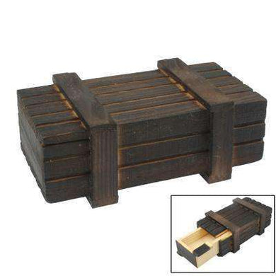 Magic Wooden Box with Secret Drawer - fommystore